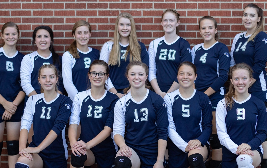 2019 HCS Varsity Volleyball Team