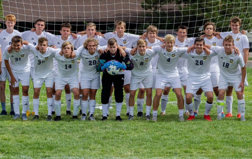 2019 Men's Falcon Soccer Team